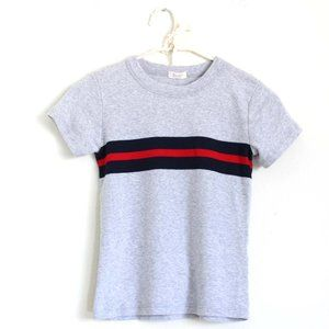 NWT Brandy Melville Striped Knit Top Gray